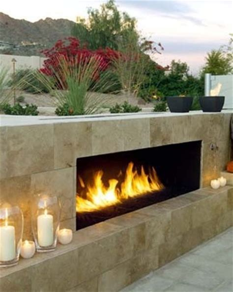 outdoor fireplace gas modern fireplace az photo gallery