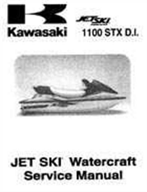 2000 2001 Kawasaki 1100 Stx D I Jet Ski Factory Service