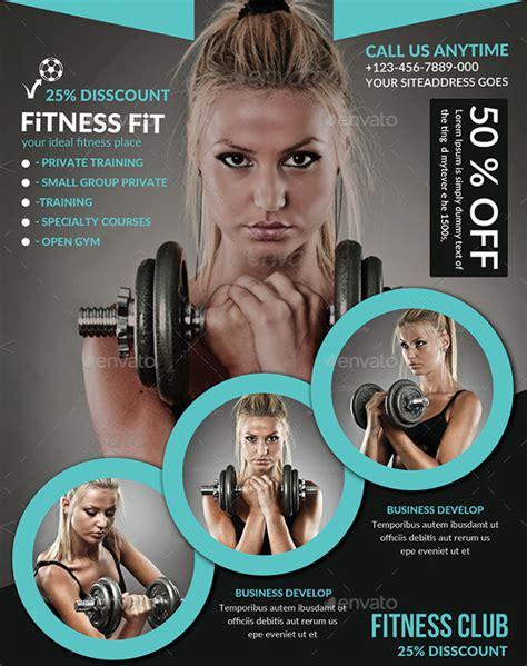 Fitness Flyer Template 29 Free Psd Format Download Free Premium Templates Fitness Poster Template Free