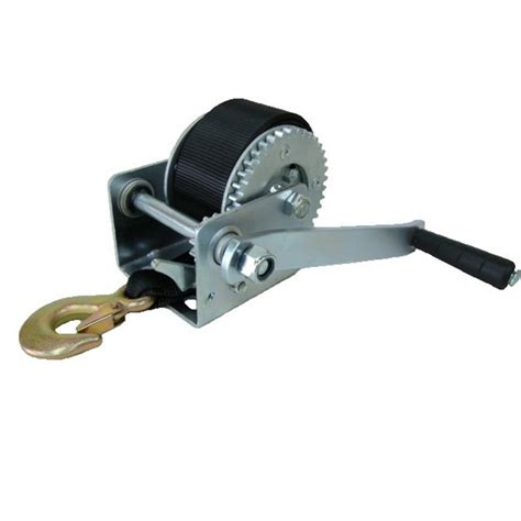 boat winch strap or cable winches