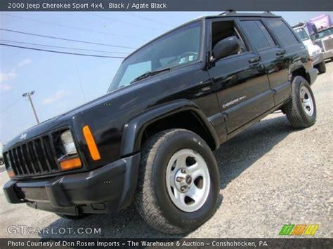 2000 jeep black black 2000 jeep sport 4x4 agate black