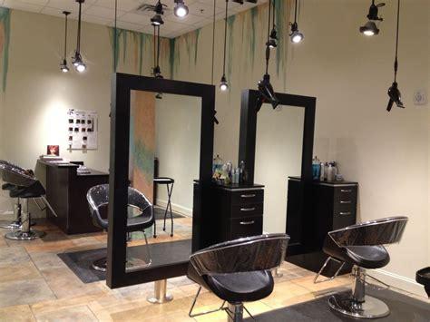 Salon Station Layout   salon stations spacious open wilmington location
