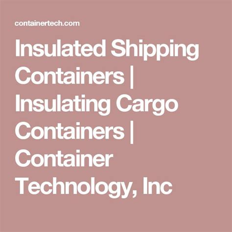 Planter Technology Inc by 1000 Ideas About Cargo Container On Shipping