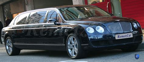 bentley limo the remetz bentley flying spur limousines