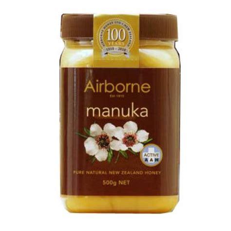 Airborne Honey Guardian Rewarewa 500g airborne aah manuka honey 500g ashop new zealand