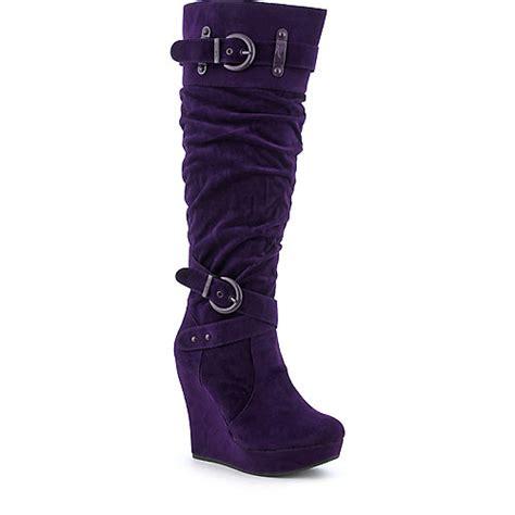 shiekh code 8 womens knee high boot
