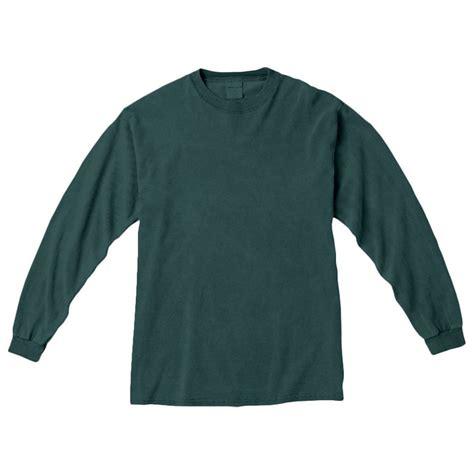 blue spruce comfort colors comfort colors men s blue spruce 6 1 oz long sleeve t shirt