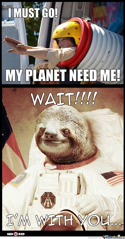 Astronaut Sloth Meme - astronaut sloth wallpaper wallpapersafari