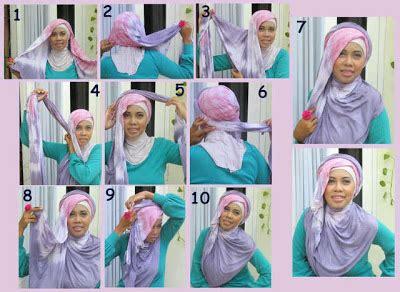 tutorial hijab syar i yang modis tutorial hijab adek pooh
