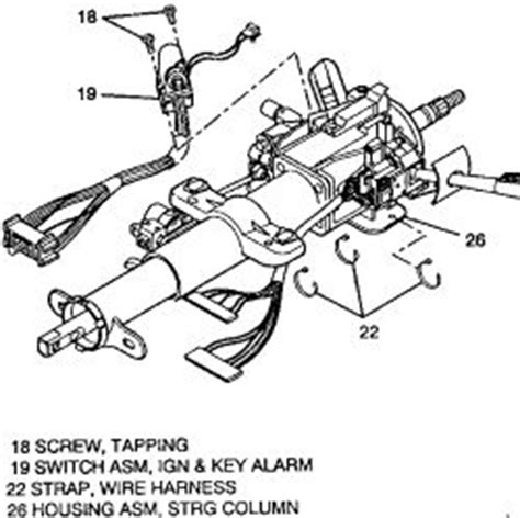 electric power steering 1992 chevrolet 3500 user handbook 2000 chevrolet truck silverado 1500 4wd 4 8l mfi ohv 8cyl repair guides steering ignition