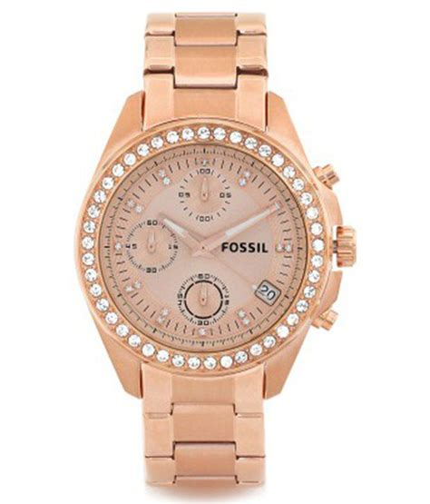 fossil es3352 chronograph analog s price in