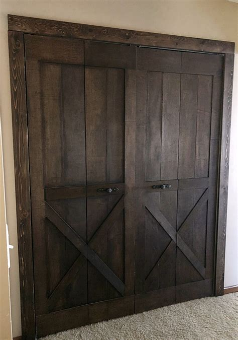 Faux Door The Picture Before Faux Doors Below Are The Faux Barn Door