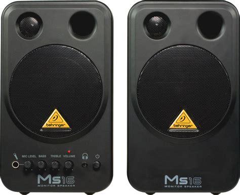 Speaker Behringer M16 cabinas