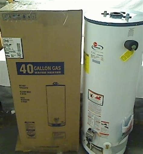 high efficiency gas water heater 40 gallon rheem 42vr40 40f high efficiency natural gas water heater
