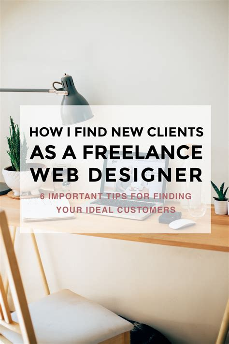 how i find new clients as a freelance web designer