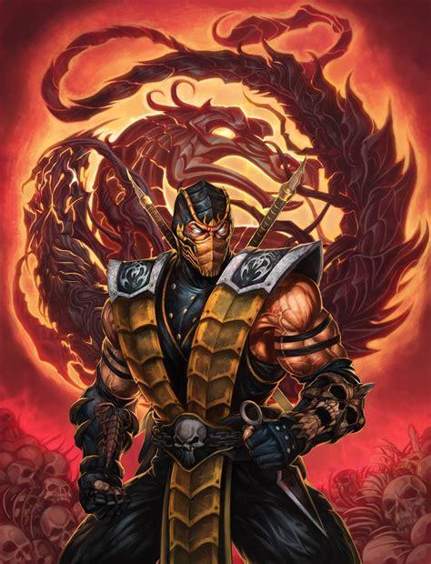 tattoo assassins descargar mk9 scorpion another costume by heewonlee
