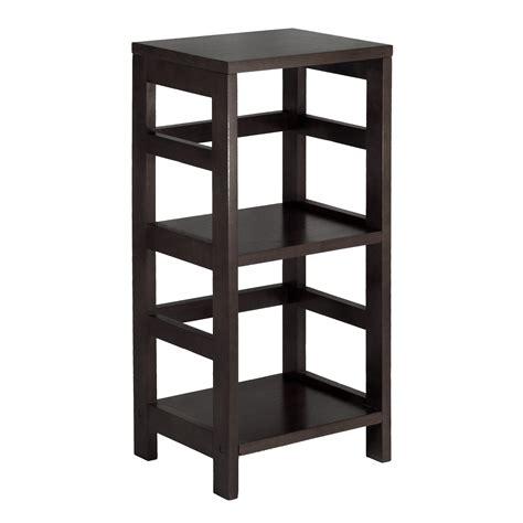 Kitchen Cabinet Design Ikea by Amazon Com Winsome Wood Shelf Espresso Kitchen Amp Dining