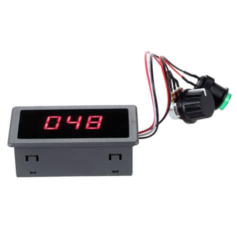 Led Motor 12v best 6v 12v 24v digital display led dc motor speed sale shopping cafago