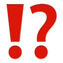 emoji question mark exclamation question mark emoji u 2049 u fe0f