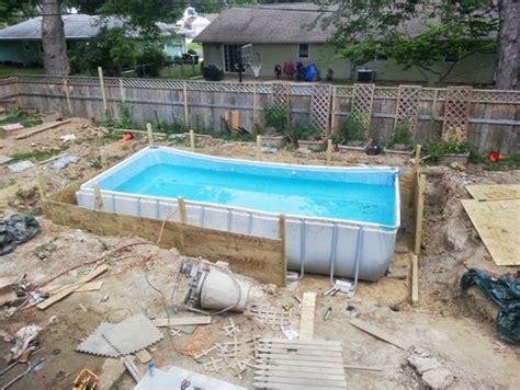 Deck surround/overlay above ground pool