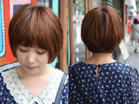 deconstructed bob hairstyle deconstructed bob haircut this sweet short brown bob hairstyle is completely on