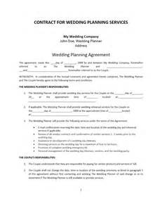 Event Terms And Conditions Template by Wedding Planner Contract Template Freewordtemplates Net