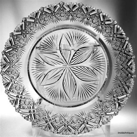 Signora Salad Bowl 54 best n hoare american brilliant cut glass corning ny images on