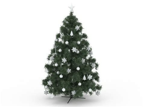 artificial christmas tree 3d model 3ds max files free