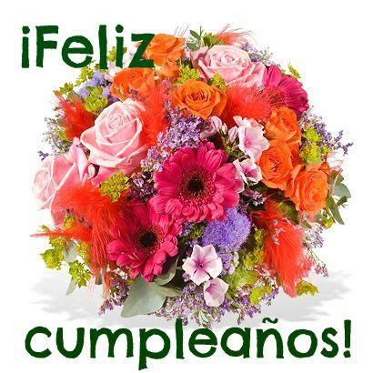 imagenes de flores happy birthday tarjetas de cumplea 241 os con flores y musica buscar con