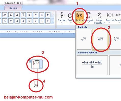 cara membuat rumus x bar di word tugas akhir tik smpn 15 bandung