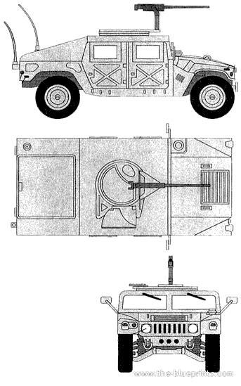 humvee blueprints the blueprints com blueprints gt cars gt hummer gt am