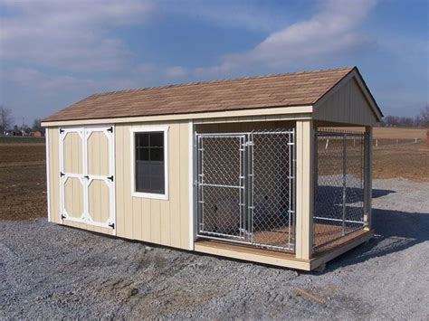 dog house shed combo 1000 ideas about insulated dog kennels on pinterest