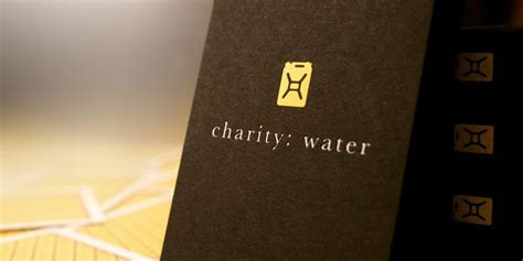 Causes Charity Gift Card - charity water cards for a cause the dieline packaging branding design