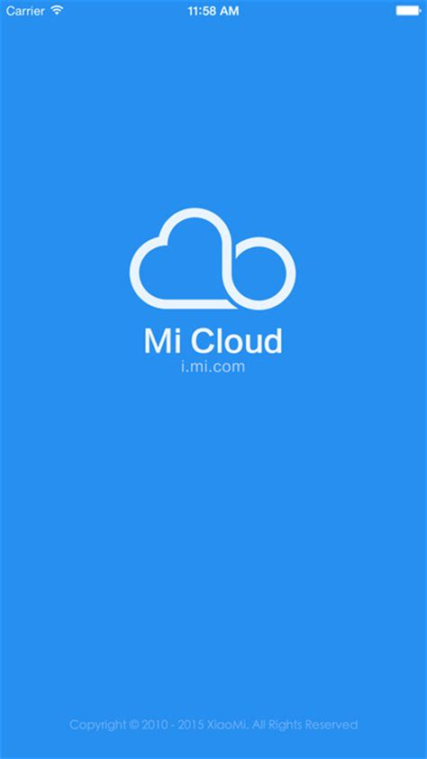 does android a cloud mi cloud app android apk