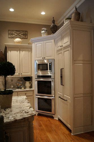 microwave in corner cabinet 17 best ideas about wall ovens on