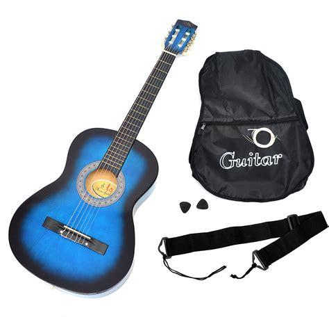Gitarre Lackieren Hamburg by Akustik Gitarre Klassikgitarre Konzertgitarre Blau Schwarz