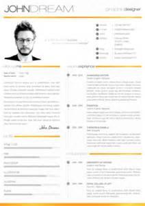 clean resume portfolio graphicriver