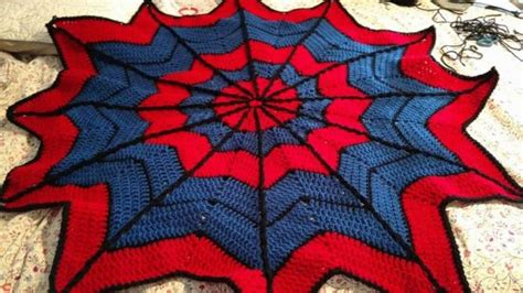 pattern for spiderman blanket spiderman knitted blanket pattern free the whoot