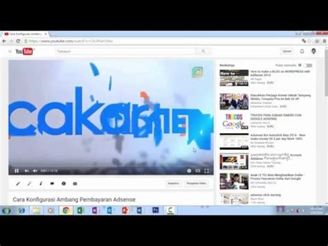 cara membuat watermark youtube cara membuat watermark di youtube youtube