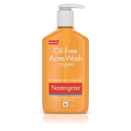 Acnes Facewash neutrogena free salicylic acid acne fighting wash