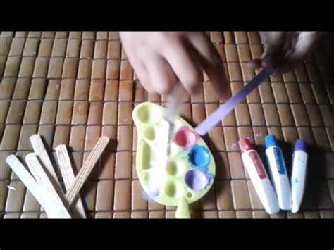 cara membuat ice cream dari nutella cara membuat tempat pensil dari stick ice cream youtube