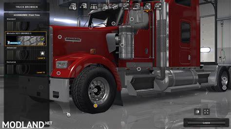 alcoa widebase  michelin xzy mod  american truck simulator ats