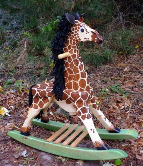 toddler rocking giraffe woodworking plans  giraffe