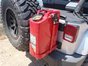 Jeep Gas Can Mount Jeep Wrangler Jk 2007 Present How To Make Your Own Jerry