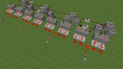 How To Make Light In Minecraft Minecraft How Do I Create A Redstone Circuit Whose