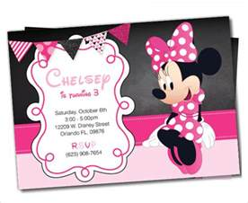 Free Minnie Mouse Invitations Templates by Awesome Minnie Mouse Invitation Template 27 Free Psd