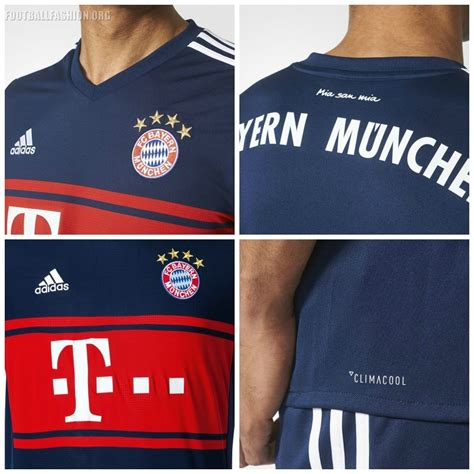 Jersey Munchen Away 2018 bayern m 252 nchen 2017 18 adidas away kit football fashion org