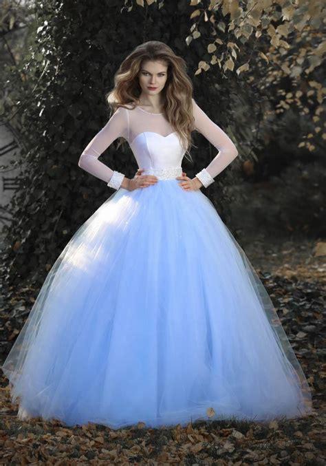 Brautkleider Blau by Prinzessinnen Brautkleid Blau Wei 223 Kleiderfreuden