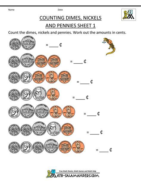 Counting Coins 1 10 Belanbe 10 counting coins worksheets 2nd grade mahakumbh melanasik