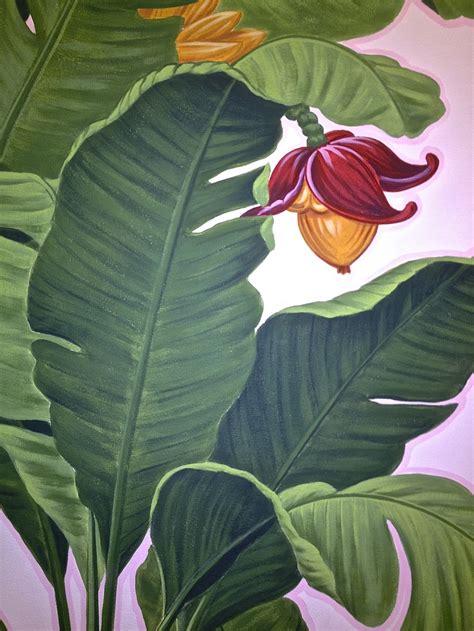 banana plant wallpaper banana leaf wallpaper pattern 14 banana leaf butterflies